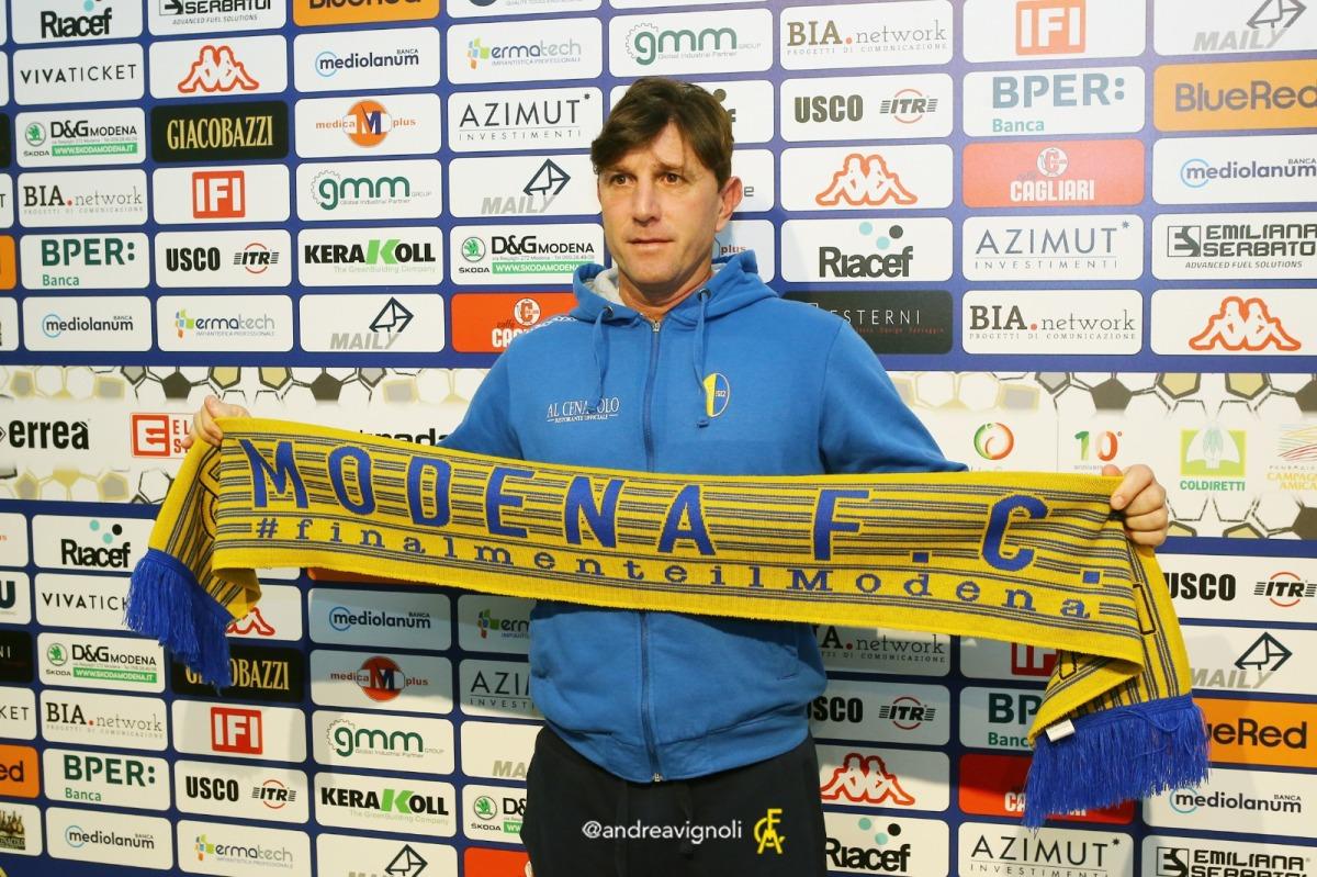 Gubbio-Modena, i convocati di mr.Mignani