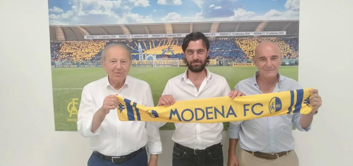 Modena Calcio d.s: Sghedoni ha scelto LucaMatteassi