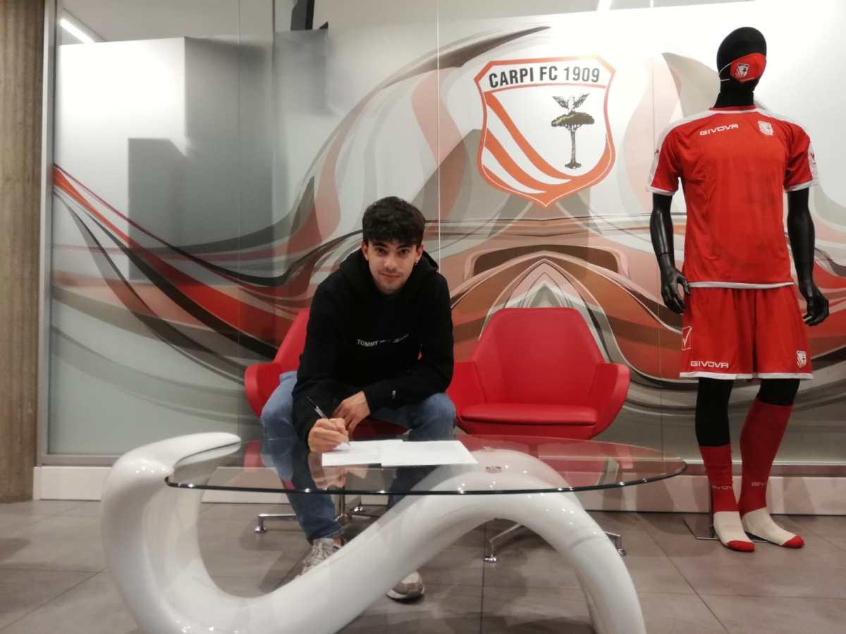 Carpi, Giacomo Giovannini rinnova fino al 2023, congratulazioni!