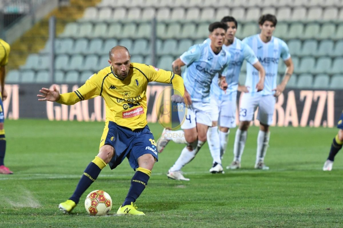 """Il Modena fa """"ventuno"""" con il tris al Legnago ed è la miglior quarta di SerieC"""